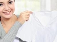 Как отстирать белую футболку в домашних условиях: советы любителям маркой одежды