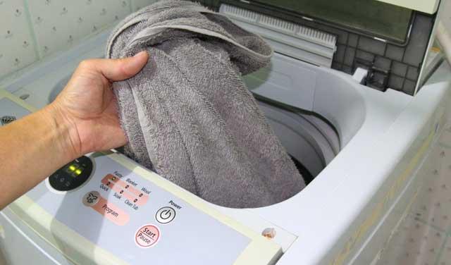машинная стирка махровых полотенец