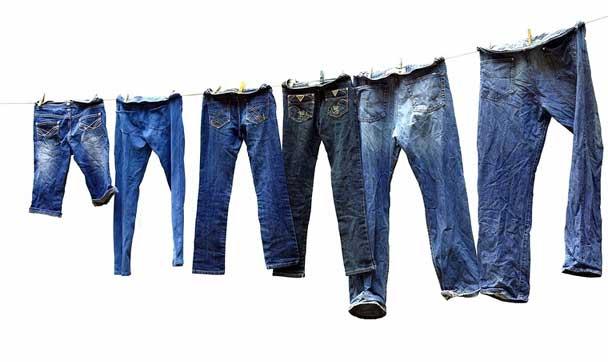 как мыть и сушить джинсы