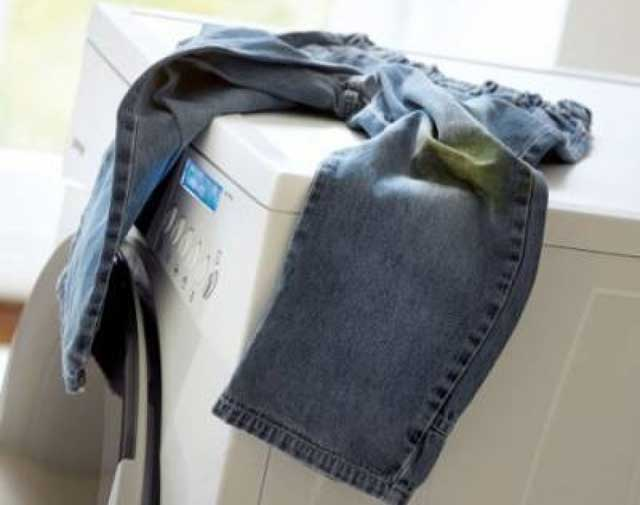 как стирать джинсы в стиральной машине