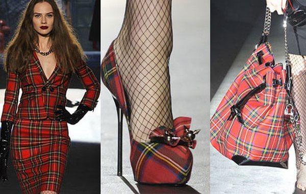 расцветка шотландка в высокой моде