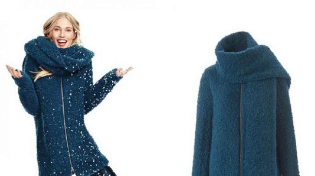 буклированное пальто фото