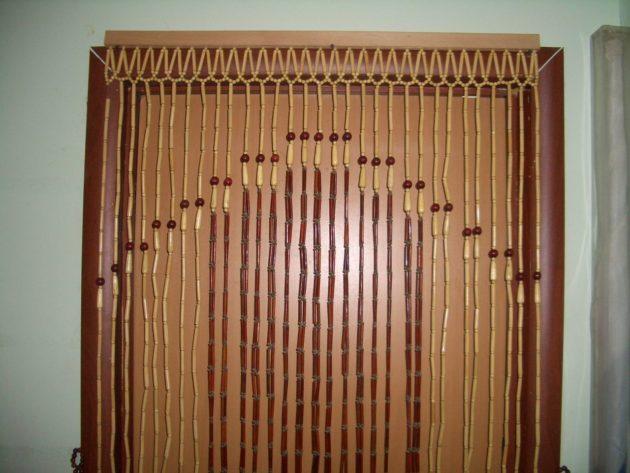 бамбуковые шторы висюльки