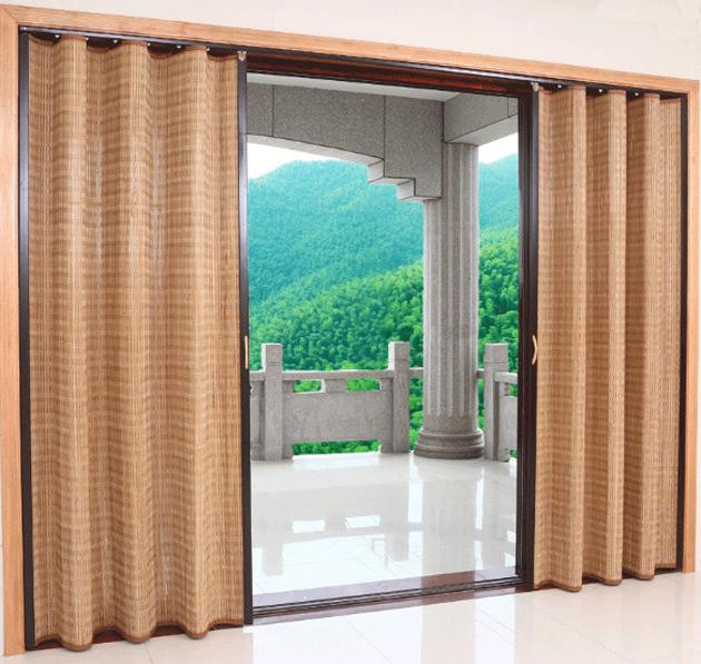 китайские шторы на дверной проем