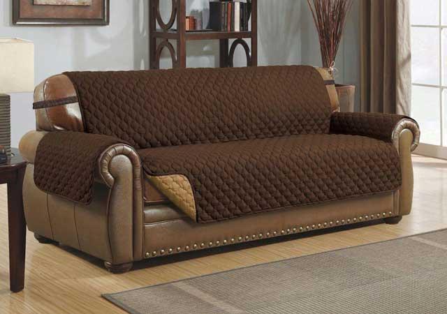 нескользящее покрывало -плед на кожаный диван