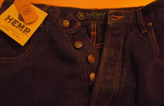 джинсы из конопляной ткани