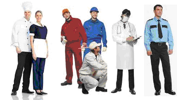 ткань для рабочей и корпоративной одежды