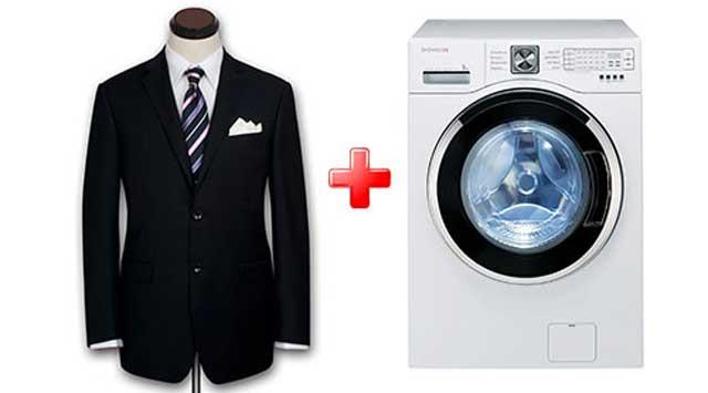 стирка пиджака в стиральной машине
