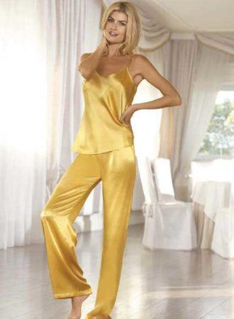 женские шелковые пижамы
