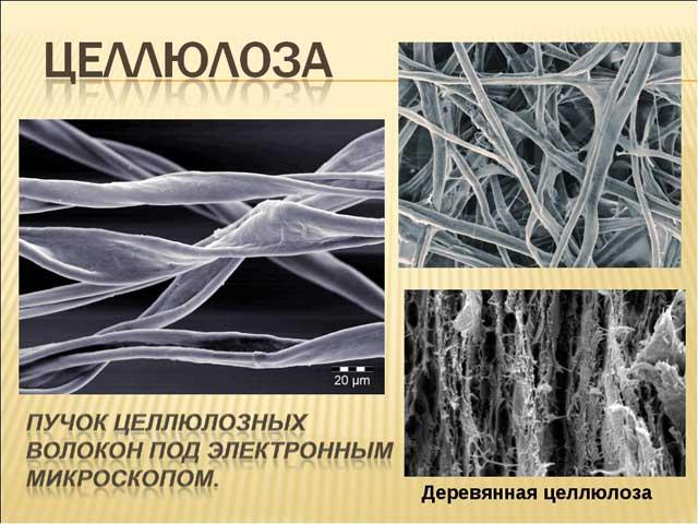 целлюлозные волокна