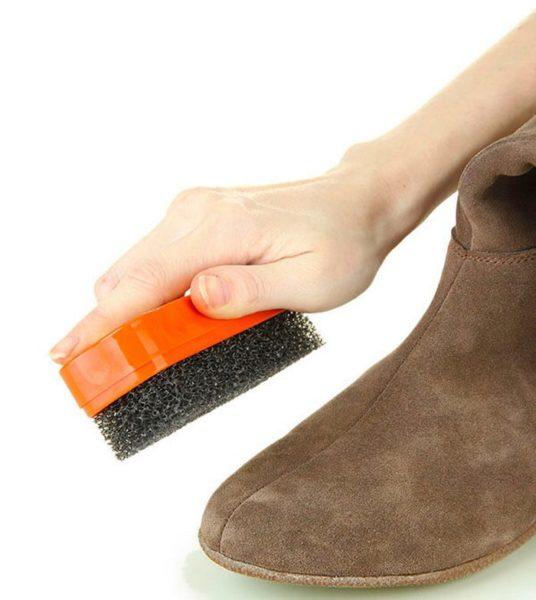 материал ботинок нубук