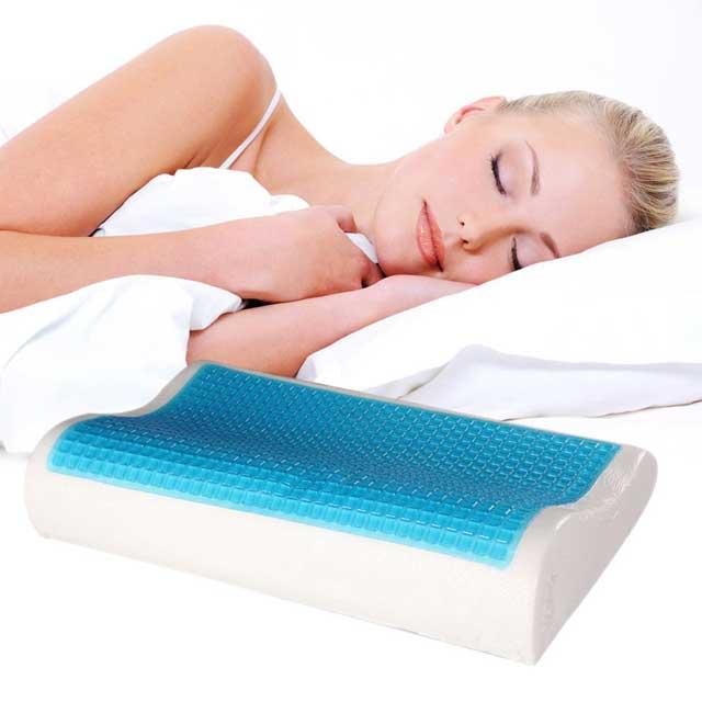 Гелевые подушки для сна: гелевые противопролежневые модели, с охлаждающим  гелевым наполнителем