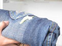 Как убрать жвачку с джинс