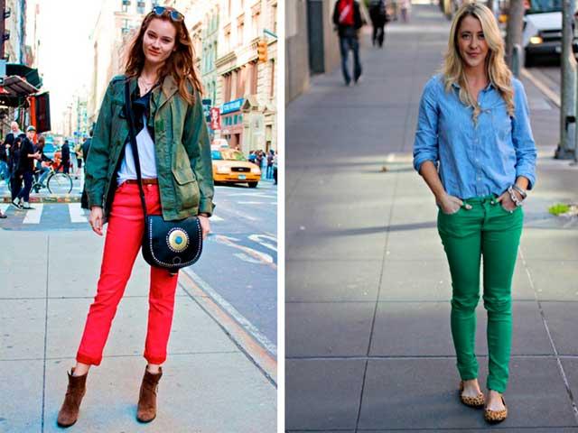 красные и зеленые