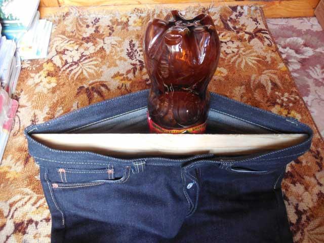 народный способ растянуть джинсы в поясе