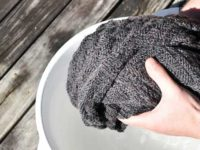 как стирать шерстяные вещи