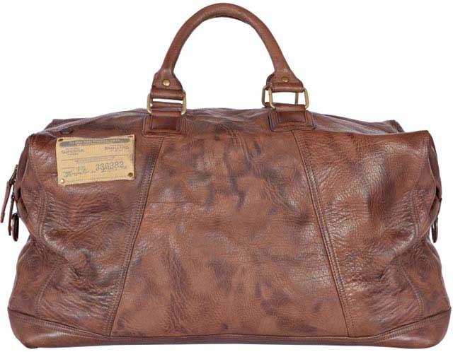 сумка из вареной кожи