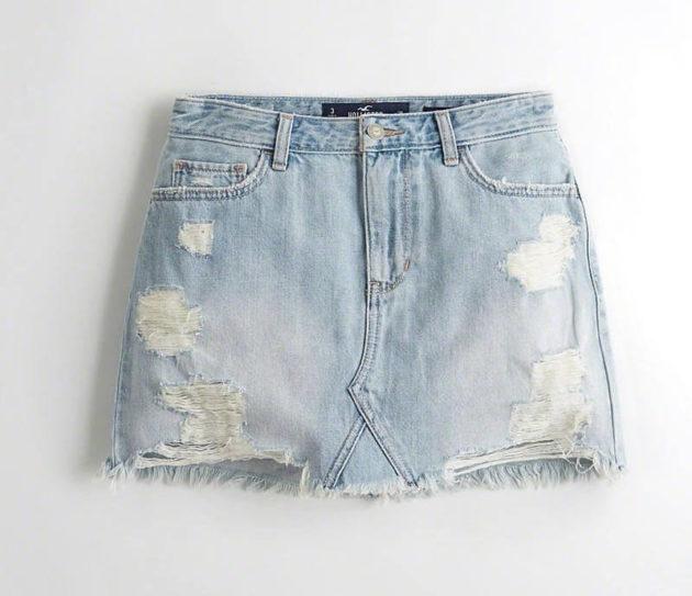 юбка джинсовая своими руками