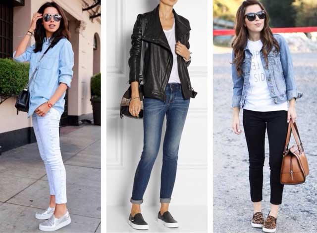 Какую обувь носить под джинсы? (75 фото)
