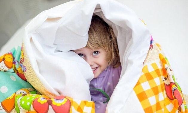 Размер детского одеяла