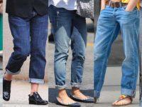 с какой обувью носить джинсы