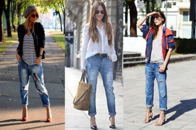 фото туфли под джинсы женские