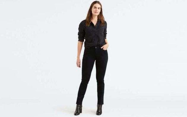 джинсы слим фото