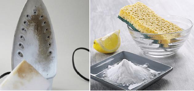 Как очистить утюг от пригоревшей ткани в домашних условиях: 8 способов